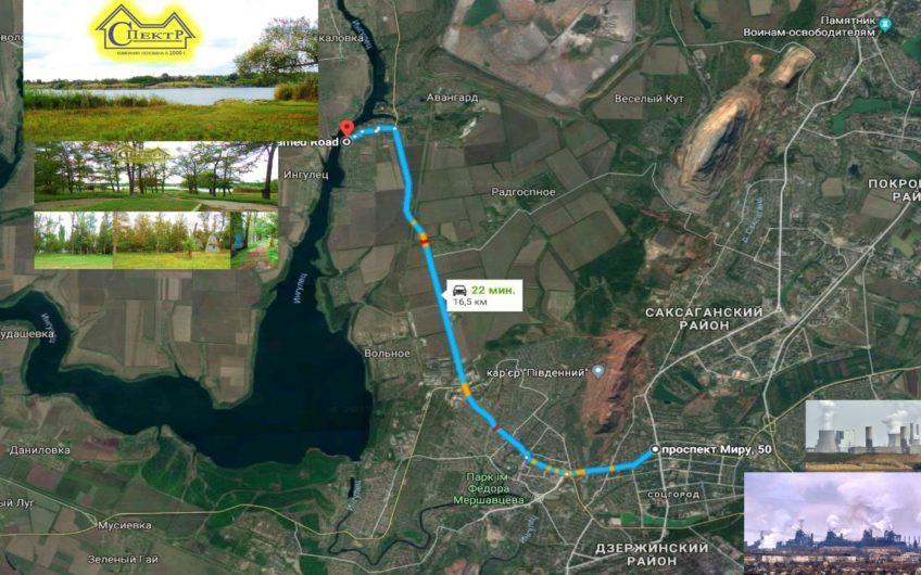 Продам турбазу 1.3га, в Марьяновке, 16км. от 95го квартала.