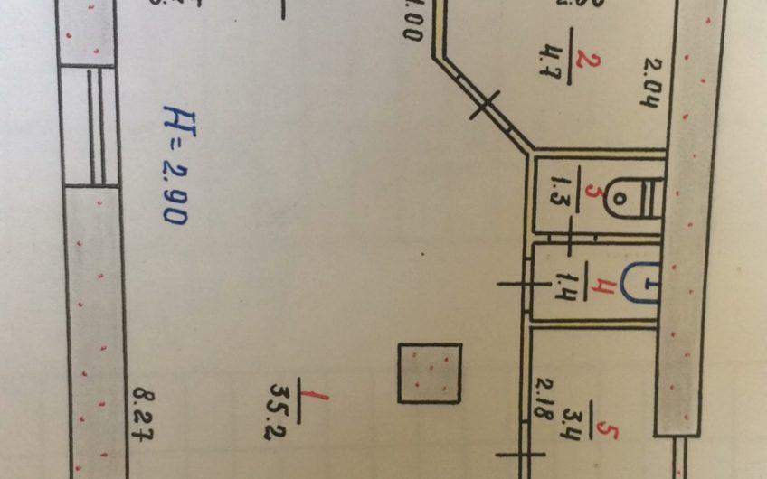 Продажа встроенного помещения (салон, офис, магазин) ул. Костенка, р-н 97 квартал