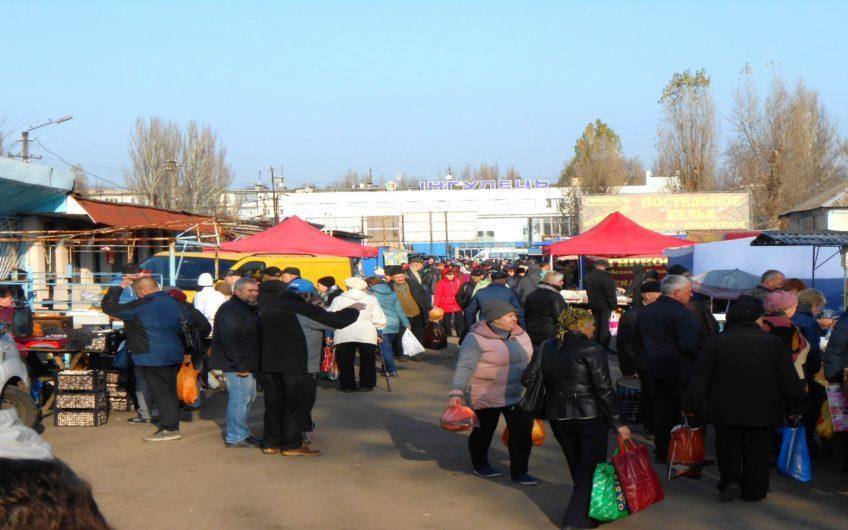 Помещение возле рынка в здании Автовокзала Ингулец.
