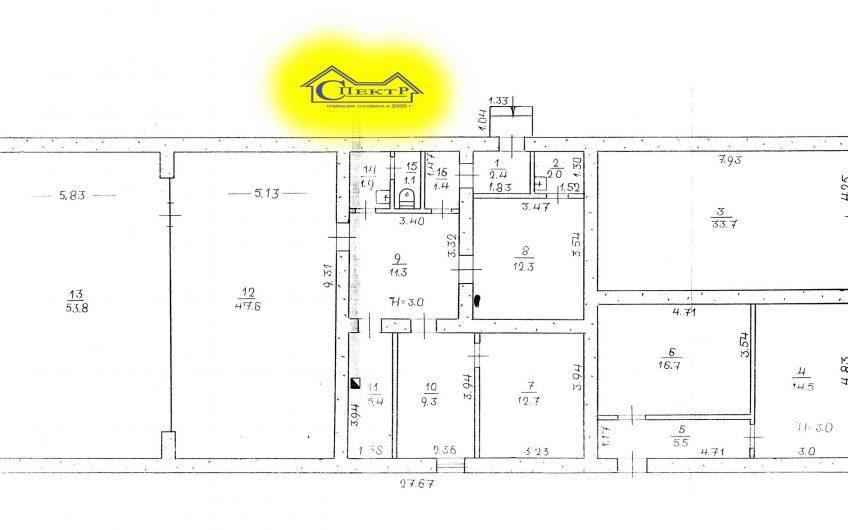 По цене склада продажа 231кв.м. Восточный 2-3 (центр).
